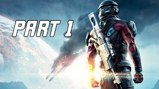 Mass Effect Andromeda Walkthrough  Part 1 - PATHFINDER (PC Ultra Let