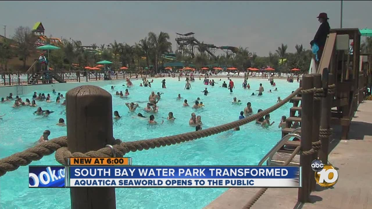 Aquatica SeaWorld Waterpark in Chula Vista opens