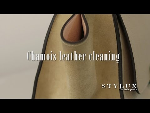 Chamois leather cleaning