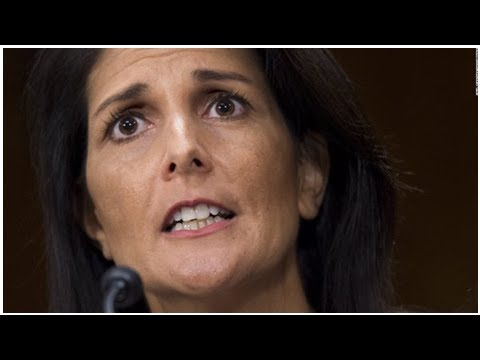 White House Throws Nikki Haley Under the Bus, She Flips It Over