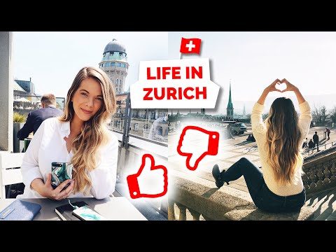 Life in Zurich, Switzerland | Pros and Cons of Living Here!