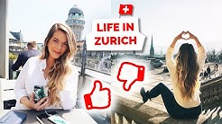 Life in Zurich, Switzerland   Pros and Cons of Living Here!