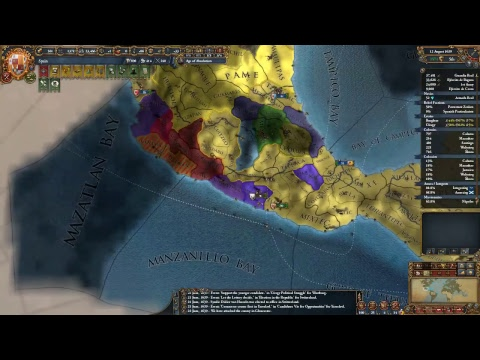 EU4 1.28.3 - Spanish Playthrough Ep 14 - Intergrating Junior Partner France