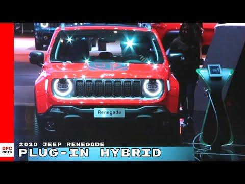 2020 Jeep Renegade Plug In Hybrid Electric Phev Youtube