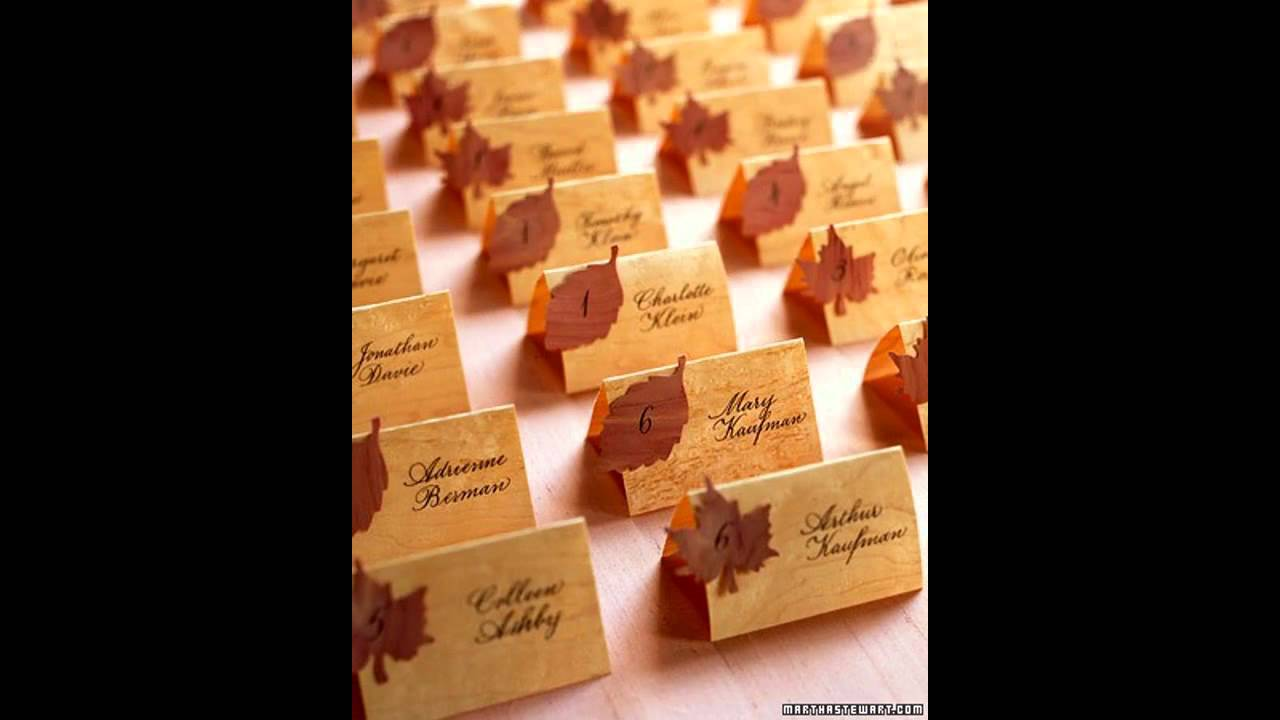 Autumn themed wedding decorations ideas youtube autumn themed wedding decorations ideas junglespirit Gallery