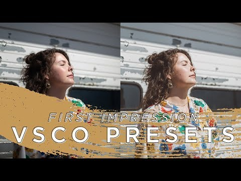 Editing with VSCO Presets in Lightroom for the FIRST TIME | Sarah Barrett
