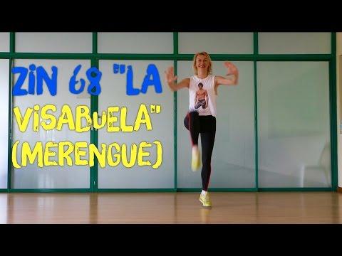 """Zumba® Party With Aksana ZIN 68 """"La Visabuela"""" (Merengue) Choreo"""