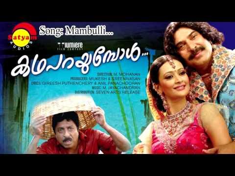 മാമ്പുള്ളികാവിൽ മരതകകാവിൽ   Mambulli Kavil Lyrics   Katha Parayumpol Movie Songs Lyrics