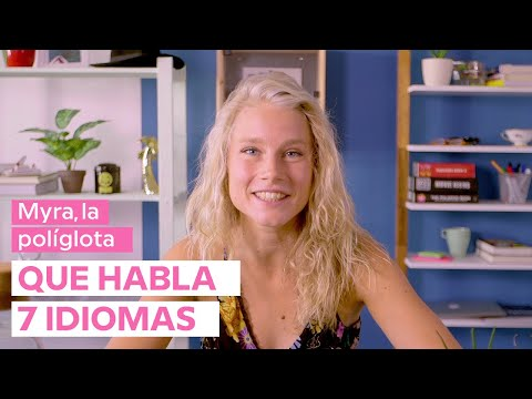 Myra, la políglota que habla 7 idiomas 🙋♀️