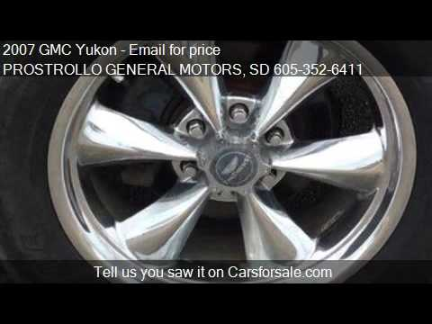 2007 Gmc Yukon For Sale In Huron Sd 57350 At The