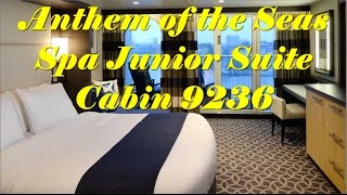 Anthem of the Seas - Spa Junior Suite - HD Walk Through