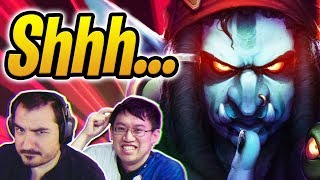 DISGUISED TOAST DESTROYS TRUMP AND KRIPP! | Silence Priest w/ Madame Lazul | Rise of Shadows