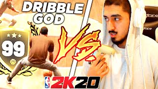 99 OVERALL DRIBBLE GOD vs TYCENO in NBA2K20