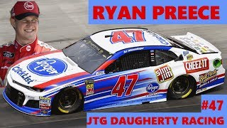 GREATEST THING SINCE SARA LEE BREAD?  Ryan Preece to the #47 JTG Daugherty Racing Chevrolet in 2019