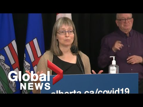 Alberta chief medical officer expresses concern as province reports 1,539 new cases, 7 deaths   FULL