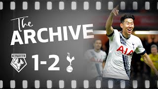 THE ARCHIVE | WATFORD 1-2 SPURS | Heung-min Son's dramatic last minute winner at Vicarage Road
