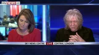 Bob Geldof Talks To Sky News About Band Aid 30 Criticism