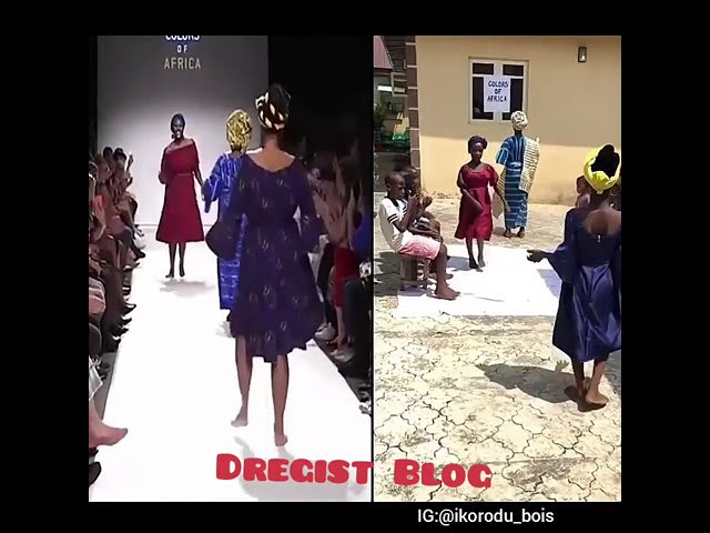 Ikorodu Bois Recreates Colors Of Africa | African Fashion Show