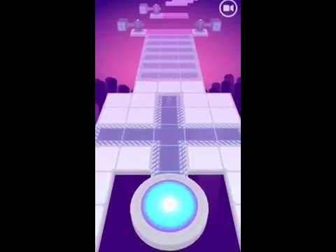 Rolling Sky Level 2 100% 1080p HD Level II Iphone 6 Gameplay