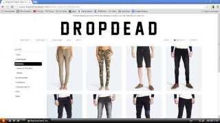 Как заказать одежду с Drop Dead, DD, dropdead.co в Украину, Россию, Drop Dead clothing(, 2013-09-30T14:59:00.000Z)