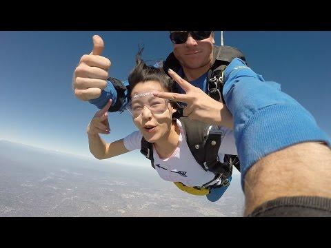 SkyDive Melbourne (St Kilda Beach) - Ayumi Chu