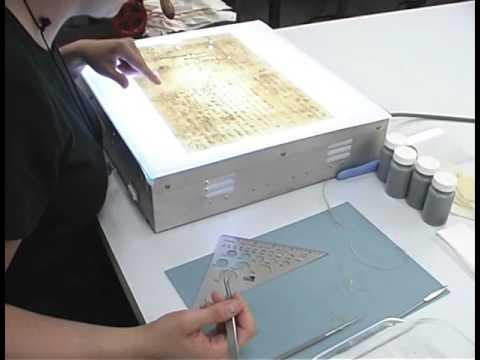 Sam Houston Letter Conservation Documentary Part 4
