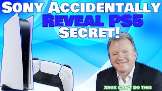 Sony Mistakenly Reveals Enormous PS5 Feature For The First Time! Xbox Can't Compete With This!