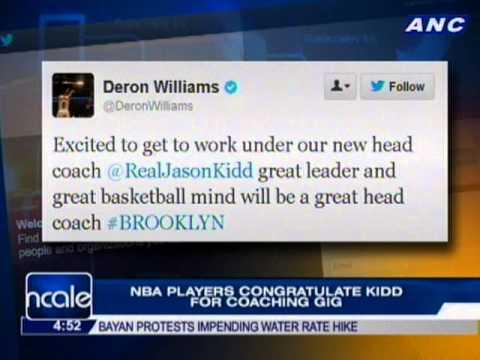 NBA players react as Brooklyn Nets hire Jason Kidd as head coach