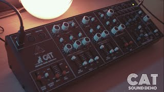 Behringer Cat - Sound Demo (No Talking With Some Effects)