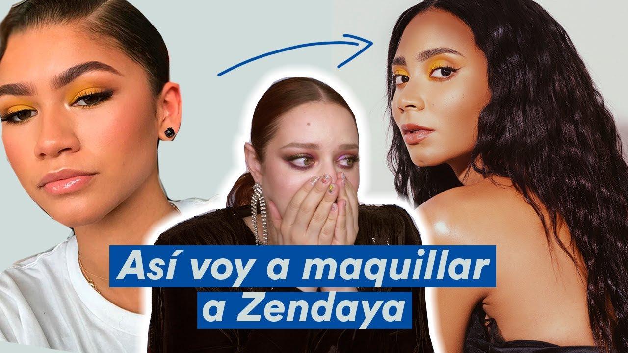 Cómo voy a maquillar a Zendaya - Pamela Segura