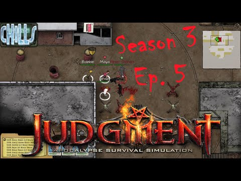 """Judgment Apocalypse Survival Simulation Ep. 5 """"HOLY SHIT ARMOR! and HELLHOUND!"""" Early Access 