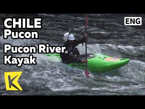 【K】Chile Travel-Pucon[칠레 여행-푸콘]푸콘 강에서 즐기는 카약/Pucon River/kayak/Extreme Sports