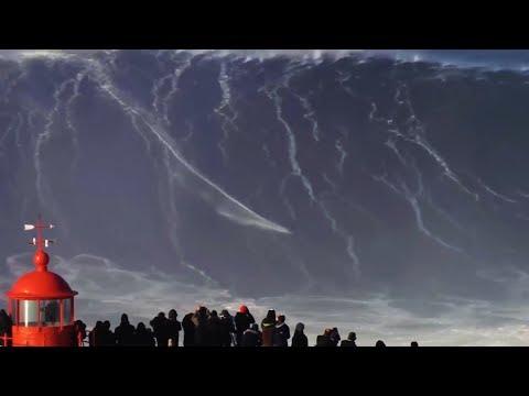 आसमान छूती समुद्री लहरे || 5 Largest Waves Caught on Video