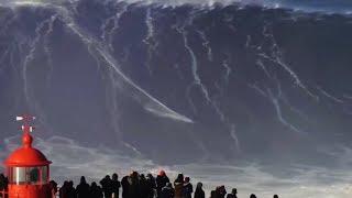 आसमान छूती समुद्री लहरे    5 Largest Waves Caught on Video