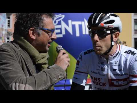 Filippo Fortin at Tour of the Alps stage 4 eve