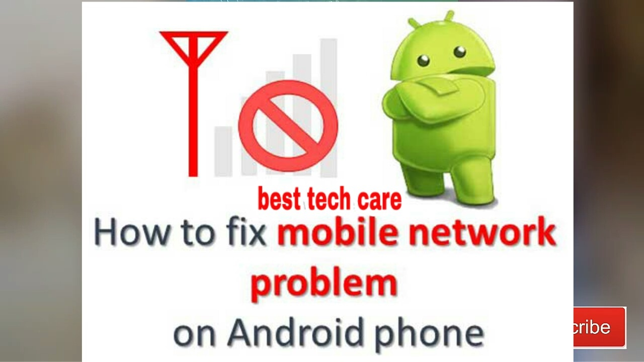 How to fix network problem in Android Mobile