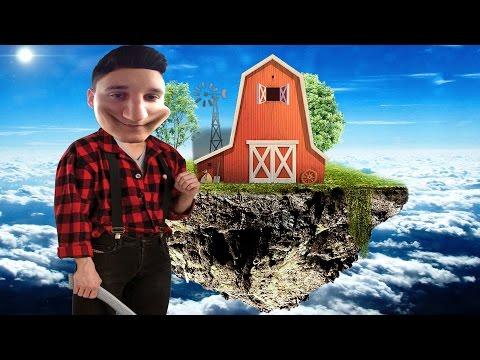 POSTAO SAM FARMER NA LETECEM OSTRVU!? | ROBLOX