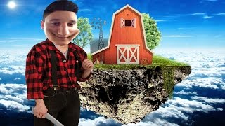 I BECAME A FARMER ON A FLYING ISLAND! | The ROBLOX