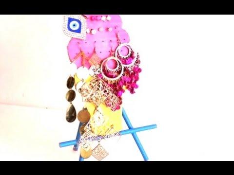 {DIY} Earring Holder