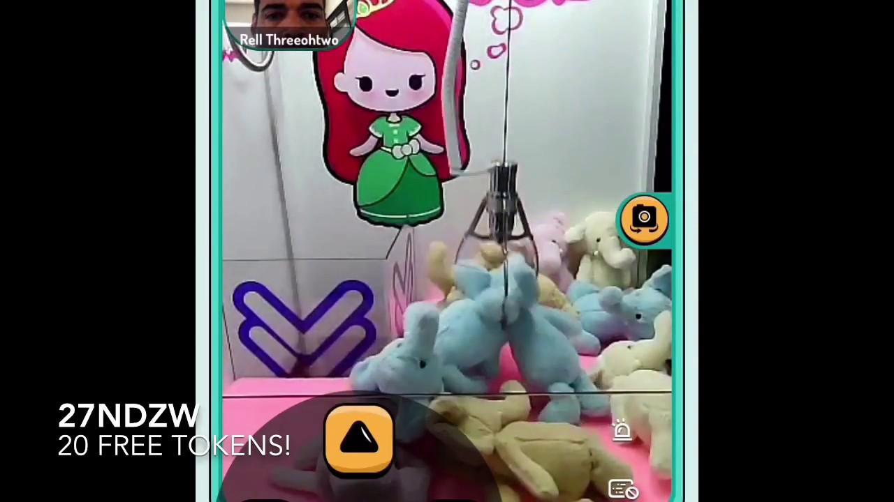 Pocket Crane Claw Machine Mobile App Wins