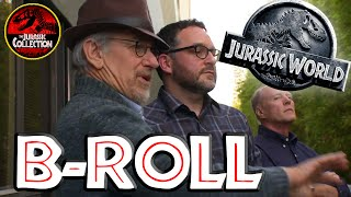Jurassic World | B-Roll | Chris Pratt, Steven Spielberg | HD 2015