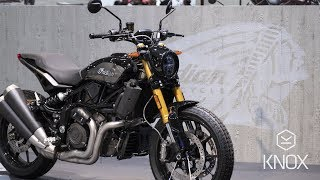 Indian FTR1200 first look review | Intermot 18 | Knox