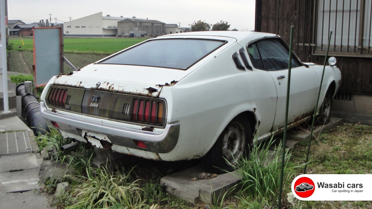 parked and rusting 1973 toyota celica 2000 gt ra25 youtube. Black Bedroom Furniture Sets. Home Design Ideas