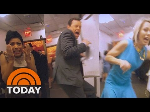 Rich Ferguson Pranks TODAY Anchors With Air Horn: April Fools' Day | TODAY