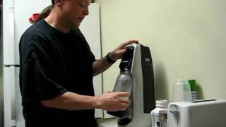 Sodastream Soda Maker demo