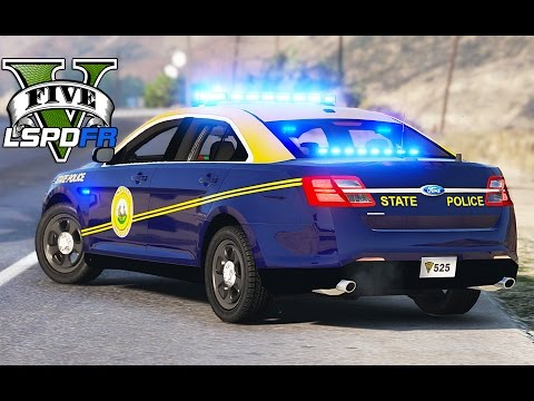 GTA 5 - LSPDFR Ep105 - West Virginia State Police
