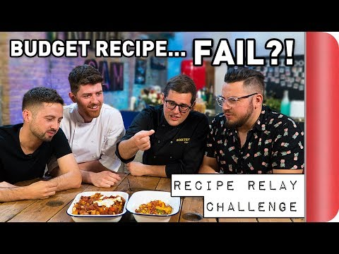 'Budget Recipe' Relay Challenge | Pass It On Ep.5