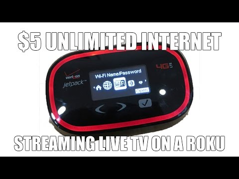 $5 Unlimited Internet Streaming Live TV On A Roku