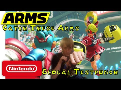 Arms Global Test Punch with MMG- Catch These Arms!