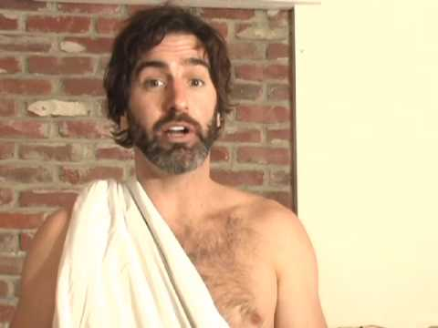 Toga!  Toga!  Toga!  (How to Make a Toga From a Bed Sheet)